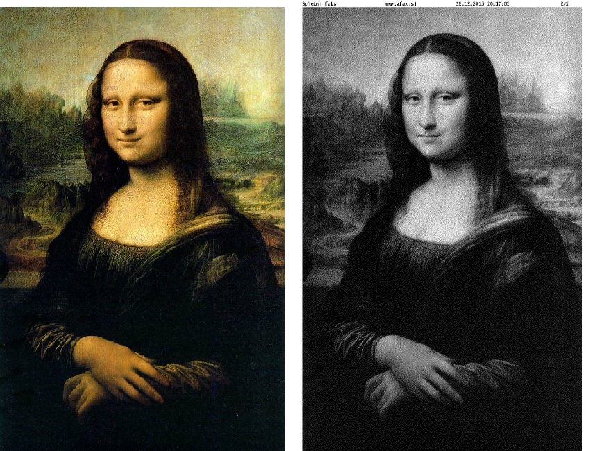 Spletni faks - Mona Lisa (aFax)